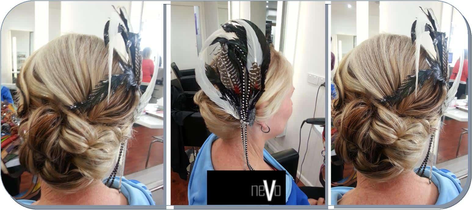 Hair-up by Sarah