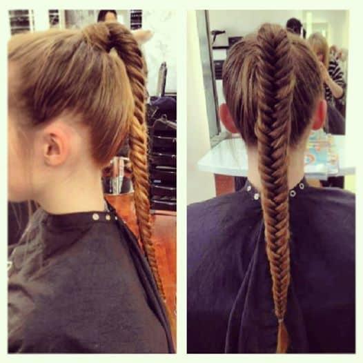 Nevo Hair Design - Fish Tail Braid by Chanelle