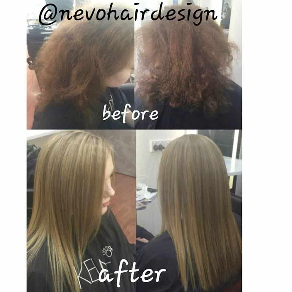 Half Head Foils Cutblow Dry Hair By Carly Nevo Hair Design